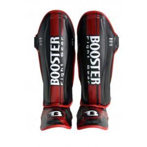 Protège tibias Booster PRO BSG V 3 Noir - Rouge