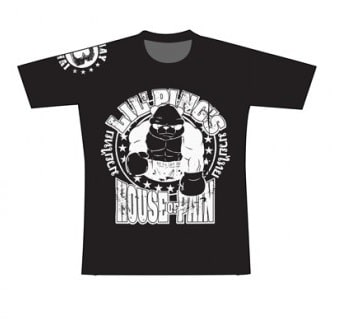 T-shirt Booster noir
