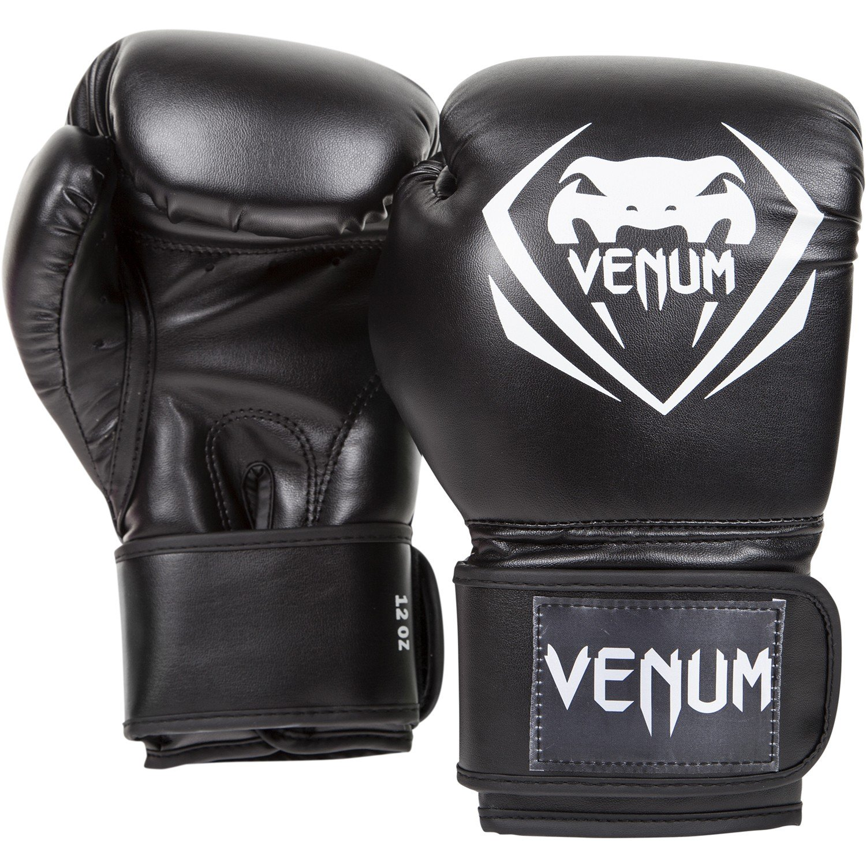 gants de boxe venum contender noir asia sport. Black Bedroom Furniture Sets. Home Design Ideas