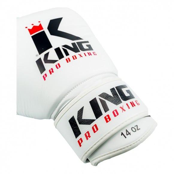 Gants de Boxe KING Star - Blanc/Noir
