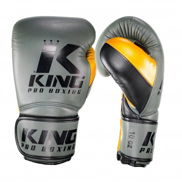 Gants de Boxe KING Star - KAKI/OR