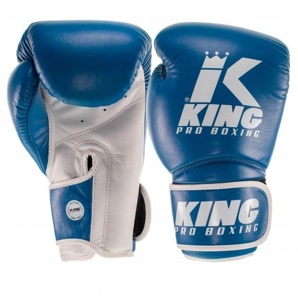 Gants de Boxe KING Star - BLEU/BLANC