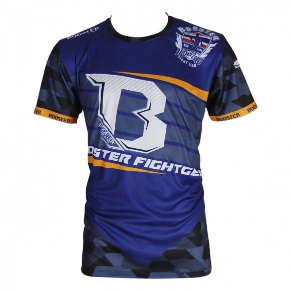 T-shirt BOOSTER DRAB BLEU/ORANGE